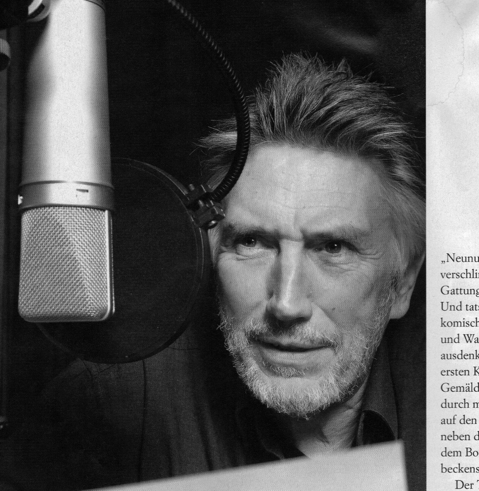 """Christian Brückner ist """"The Voice"""". Der erfolgreichste Synchronsprecher Deutschlands ist seit vier Jahrzehnten und 60 Filmen die ... - UEberblickBruecknerSMALL"""